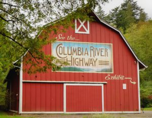 Bikabout-Portland-Historic-Columbia-River-Highway-Barn-sign-in-Troutdale